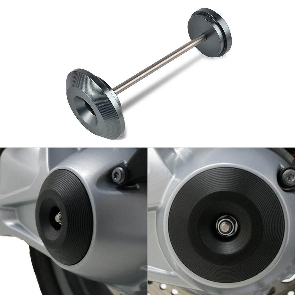 Rear Axle Crash Pad Slider Protector For 2013-2018 BMW R1200R R1200RS R1200RT LC