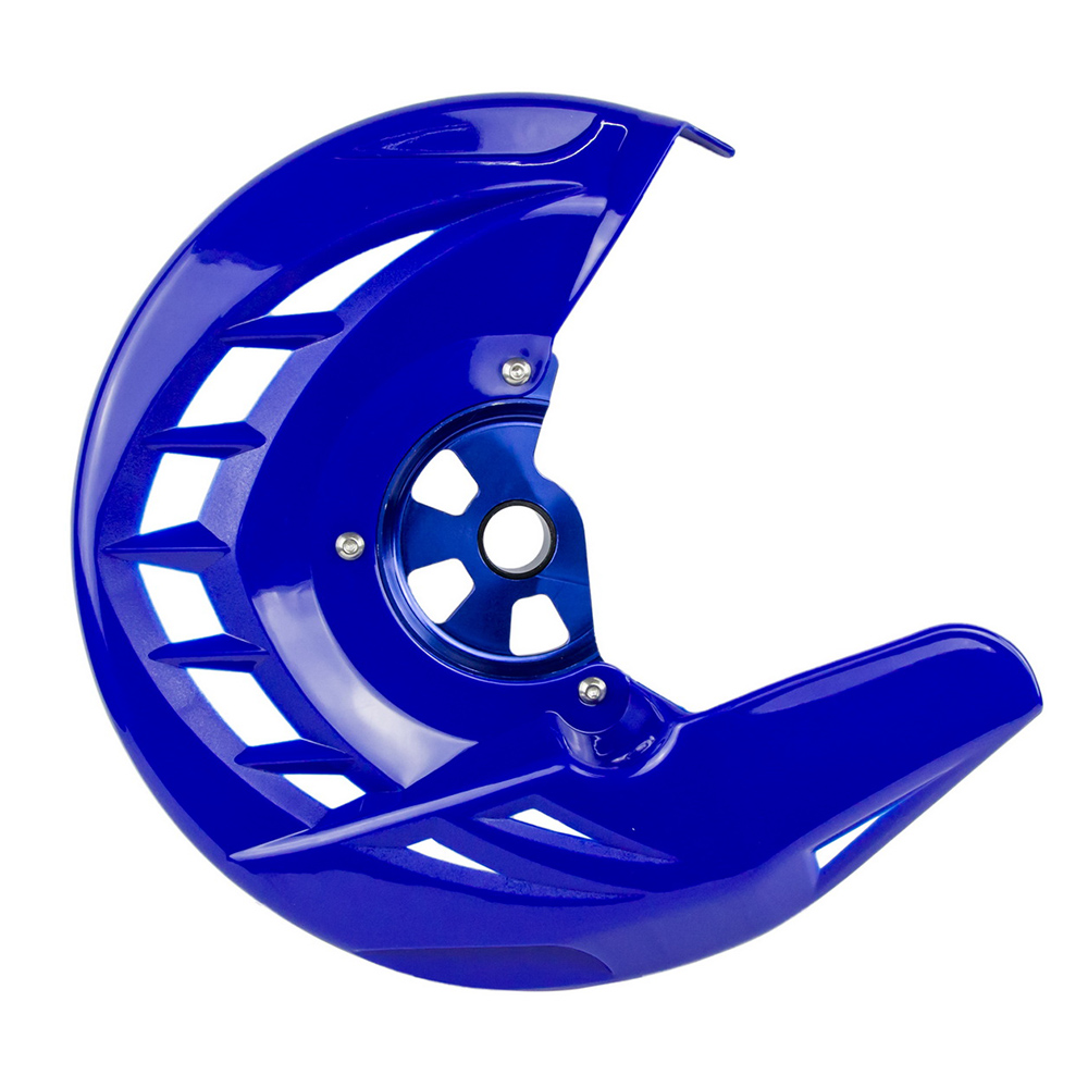 Blue Yamaha YZ125 YZ250 YZ250F YZ450F YZ125X YZ250X WR250F WR450F Front Brake Disc Guard Case Cover Protector