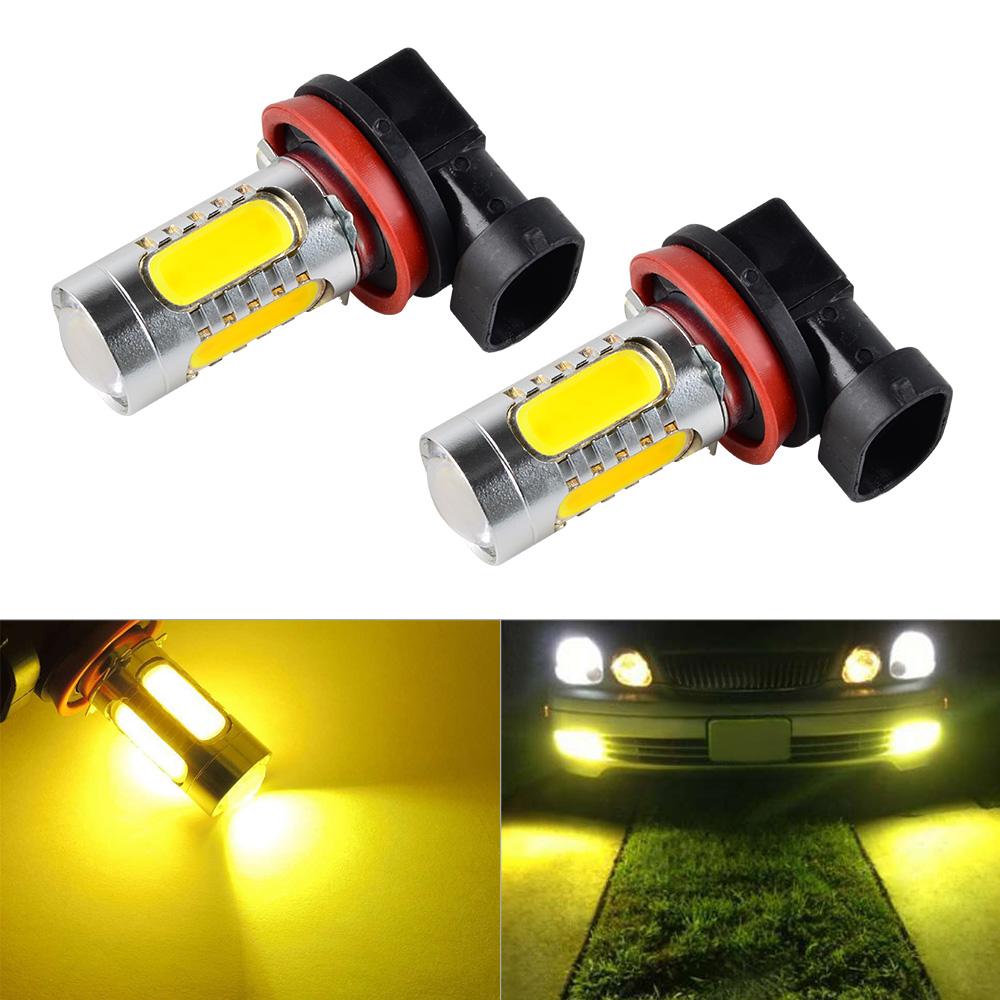 H11 H8 H9 COB LED For Acura TSX 04-14 TL 07-14 Fog Light