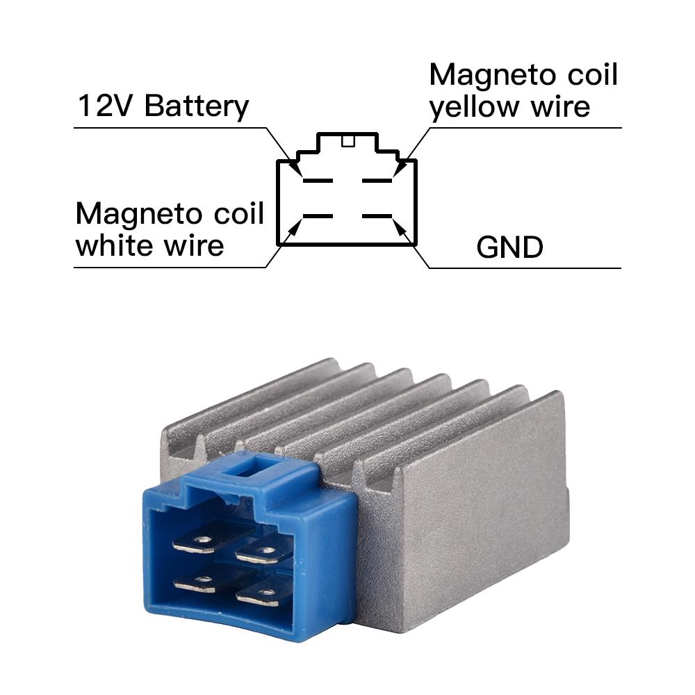 For Yamaha Gas Golf Cart Voltage Regulator G8  G9  G14  G16